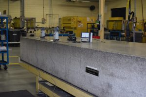 Granite surface plate calibration